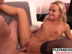 Perfect New Mama Victoria Bangs Hot Young Friend