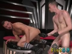 Mature gay fisting stories and nude men Aiden Woods is on his back and