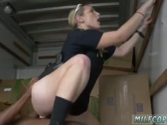 Milf anal threesome vintage and big tit behind Black suspect taken on a