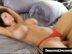"""Curvy Cougar Deauxma Gets Pussy & Dick In Hot 3Way FuckFest!"""