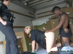 Brunette milf casting Black suspect taken on a raunchy ride
