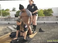 Big booty police officer and milf stuck Break-In Attempt Suspect has to