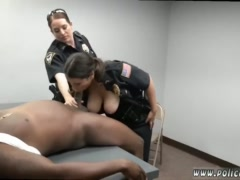 Black girl fucks thief and verified brunette first time Milf Cops