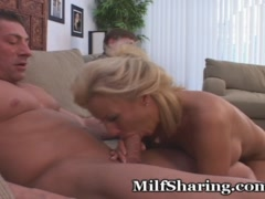 MILF Loves Hubby Watching