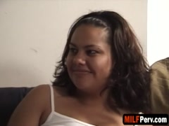 A fabulous MILF masseuse gets banged on camera for the first time