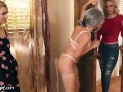 """MommysGirl Mrs. Doubtfucker Almost Caught with Step-Teen!"""