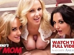 """hot milf Amber Chase sucks and fucks young cock"""