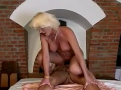Hot Granny does Anal