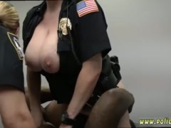 Superb brunette wife xxx Milf Cops