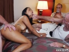 Old man sex and grope xxx Staycation with a Latin Hottie