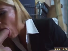 Red dress milf first time Hot Milf Banged At The PawnSHop