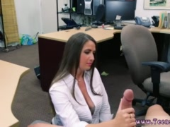 Amateur brunette milf small tits and big penis fuck ass PawnShop