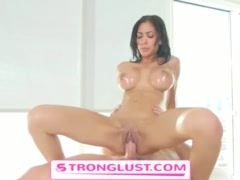 Hot milf oiled and fucked