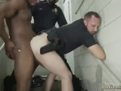 Mature gay men porn bareback movies free Fucking the white cop with some