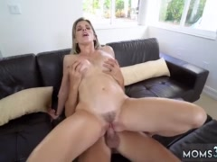 Blonde big tits dp first time Stepmom Turns Wet Dreams Into Reality
