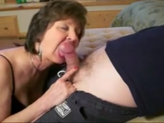 Blowjob from mature milf