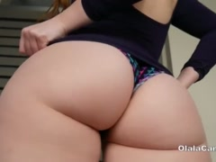 Young milf brunette anal toying and twerking OlalaCam