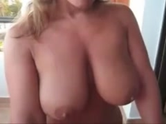 Big natural tits milf blowjob and sex