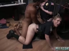 Milf threesome bathroom and massage young Raw flick grips police romping
