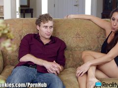 RealityJunkies Horny MILF Seduces Son's Friend
