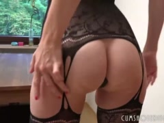 Hot Amateur German Wife Pleasing Husband's Cock At Home
