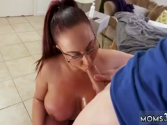 Girls first time with big white dick Big Tit Step-Mom Gets a Massage