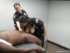 Ass traffic brunette and huge black cock anal big tits Milf Cops