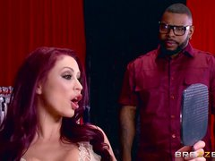 Monique Alexander loves bbc - Brazzers
