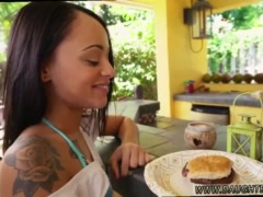 Mom surprised patron's daughter with black Holly Hendrix Has Some Fun