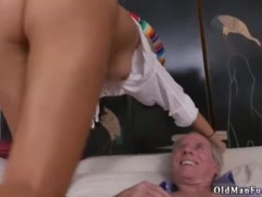 First old man and daddy fucks girl time Frannkie met a waitress at a