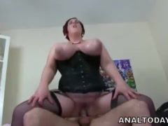 Big Boobs Chubby Lady Gets Anally Fucked