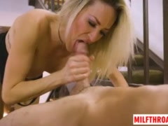 Big tits milf tittyfuck with facial