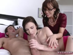 Homemade milf husband wife self taped Lewd Mother compeer's daughter