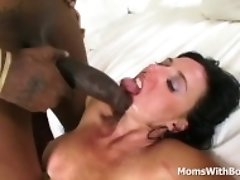 """Mature Babe Karen Kougar Big Tits Against BBC"""
