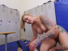 Euro milf gangbang Dominant MILF Gets A Creampie After Anal Sex