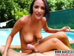 Brunette Mother Sofi Ryan Getd Drilled By Step Son