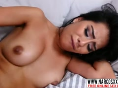 Step Mother Monica Asis Gets Brutal Facial