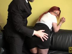 British milf sub squirts while fingerfucked