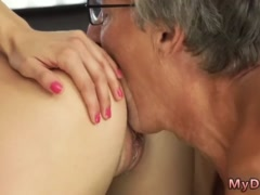 Toes blowjob Sex with her boypal´s father after swimming pool