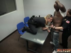 Sexy police and hot milf teaches first time Milf Cops